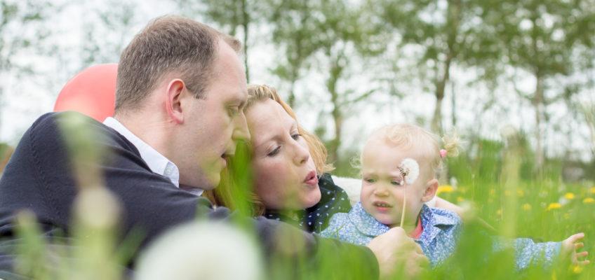 Familiefotografie Suzanne, Eric en Elise
