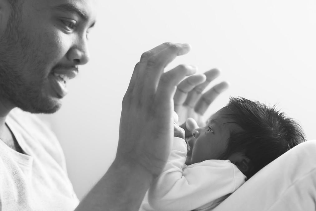 newbornshoot baby fotografie semper lumen lifestyle