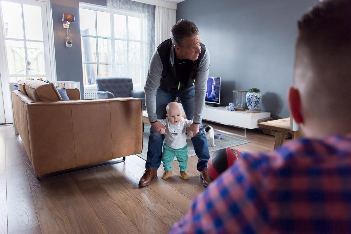 Day in the life Almere documentaire gezinsfotografie journalistieke fotoshoot