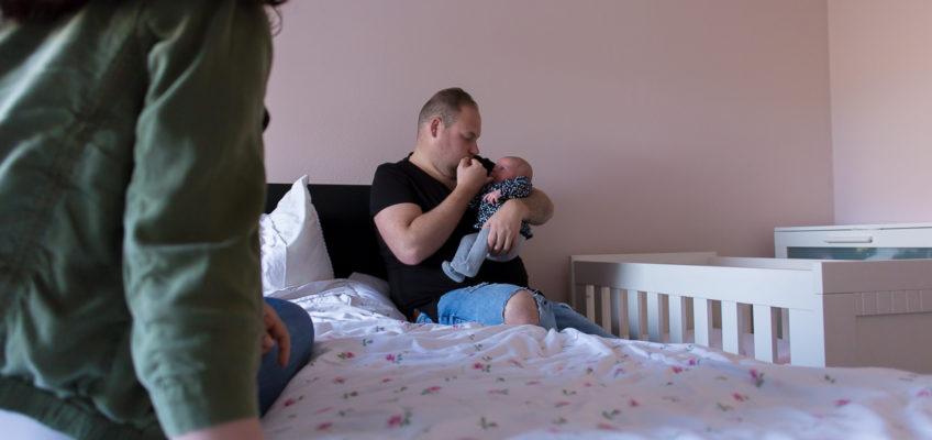 New-born shoot met Loïs!