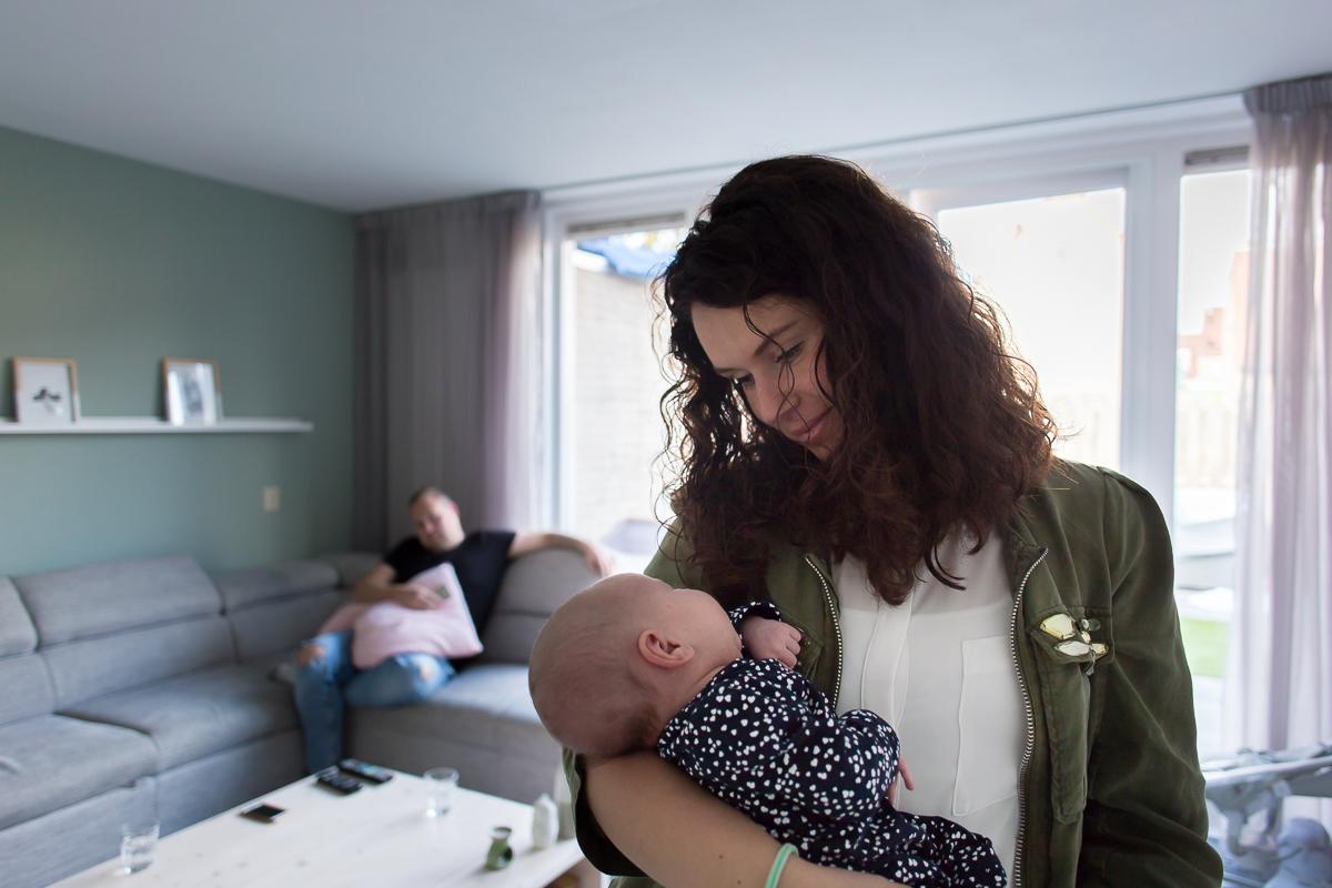 new-bornshoot, baby fotografie, lois, semper lumen, almere, zaandam