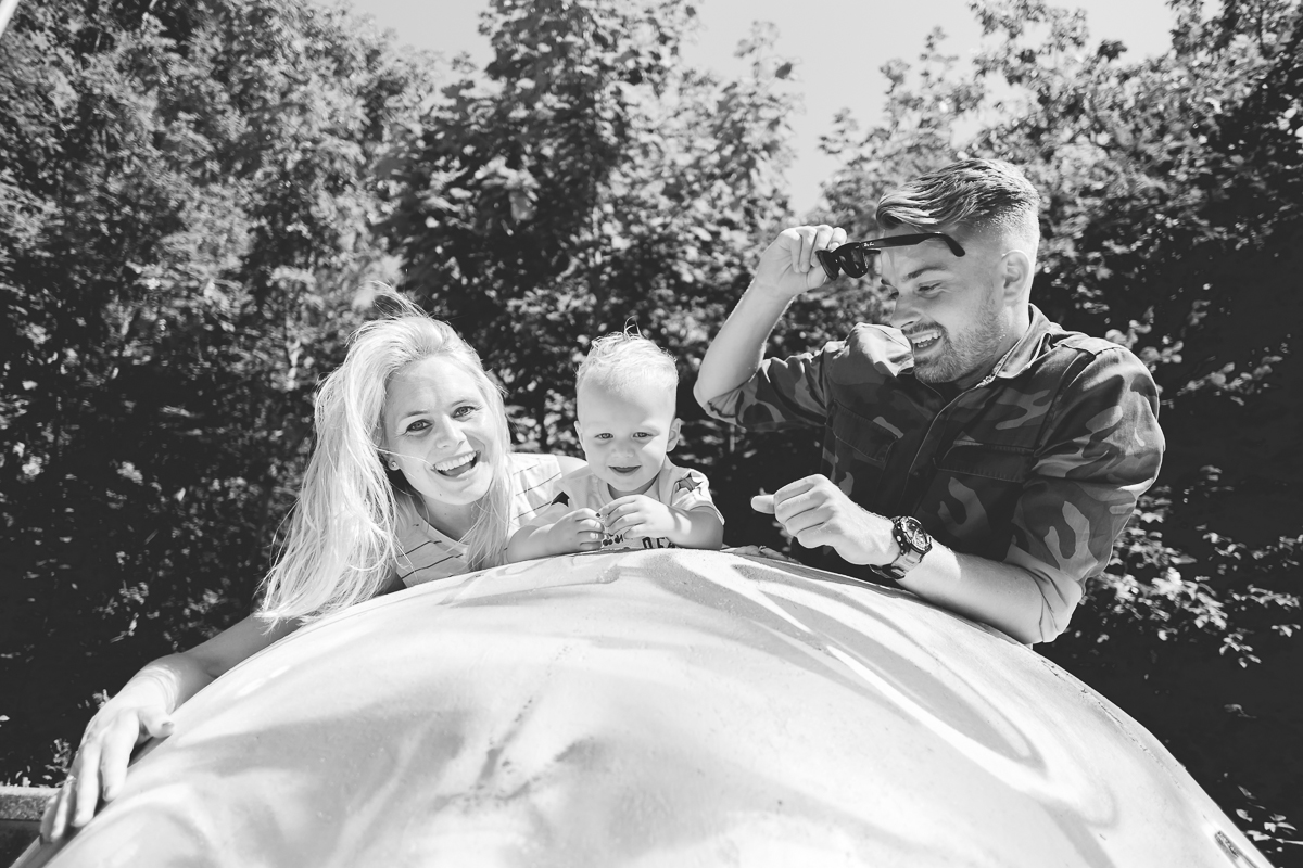 Familie fotoshoot in Beatrixpark in Almere